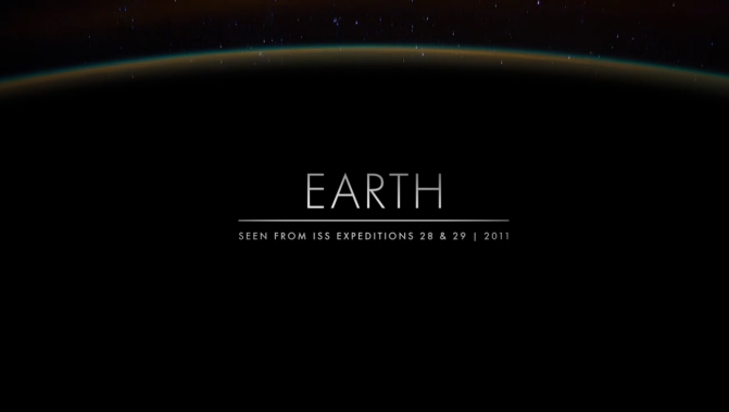 Time Lapse View from Space of the Earth, Fly Over