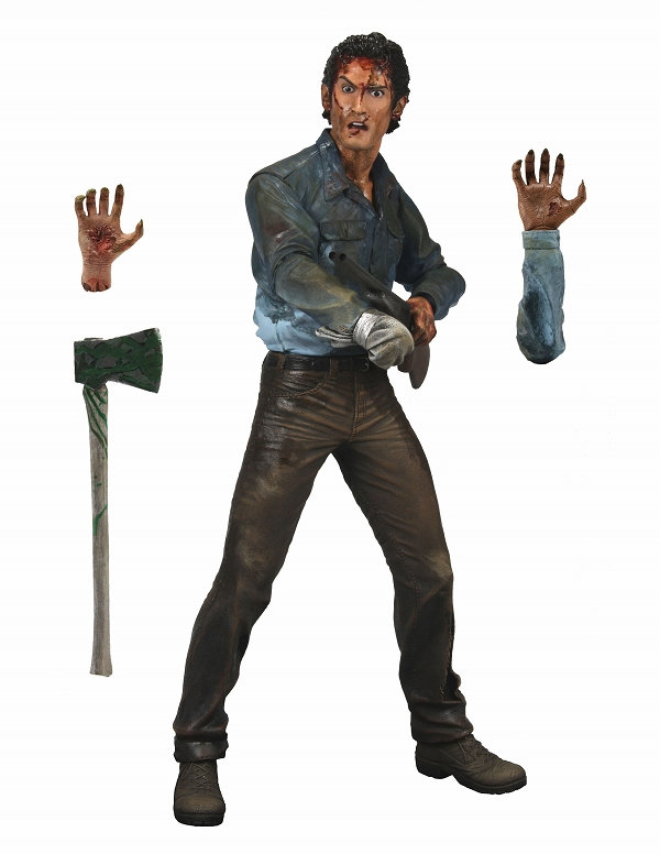 Orange Lanterns Unite: 7″ Evil Dead 2 Ash Figure…