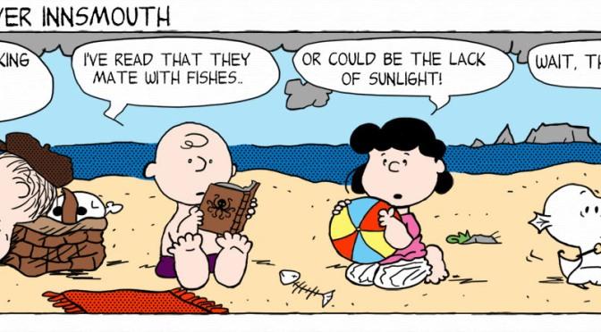 Peanuts Innsmouth by BazNet