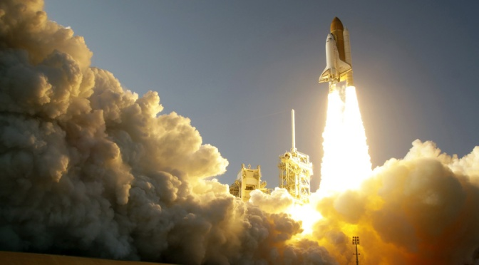 Black Lanterns Wail: RIP Space Shuttle Discovery OV-103