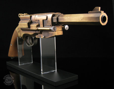 Orange Lanterns Unite: Malcolm Reynolds Metal-Plated Pistol Replica…