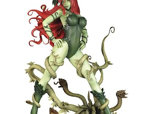 Orange Lanterns Unite: Batman Poison Ivy Bishoujo Statue…