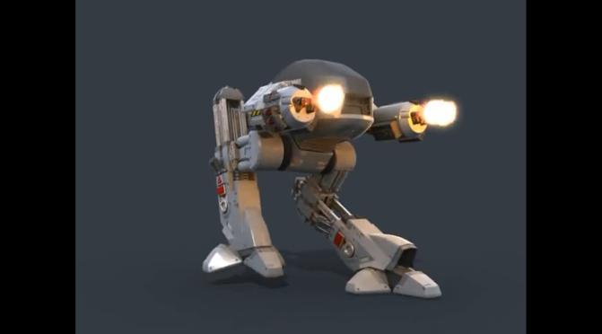 Orange Lanterns Unite: Kotobukiya Robocop Edition 209 Model Kit…