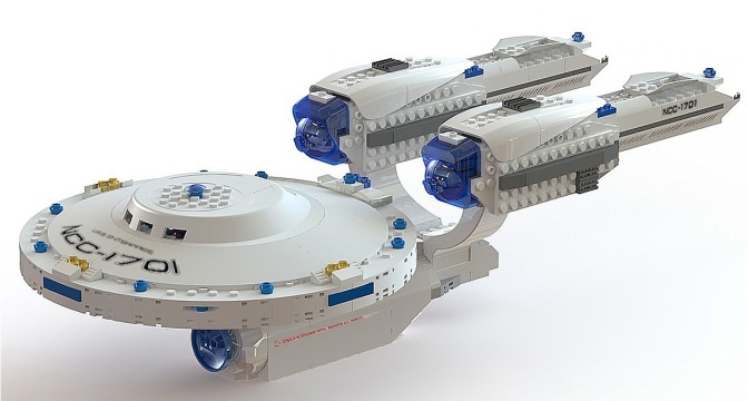 Orange Lanterns Unite: KRE-O USS Enterprise…